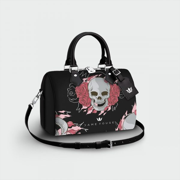 Bauletto Death Roses Dame Rouge