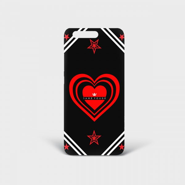 Cover Huawei Cuore Matto Dame Rouge
