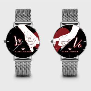 Metal Watch Bond Dame Rouge