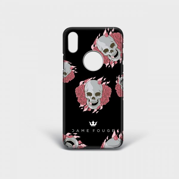 Cover Iphone Death Rose Dame Rouge