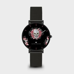 Orologio Death Roses Dame Rouge