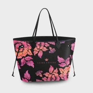 Princess Bag Violet Roses Dame Rouge