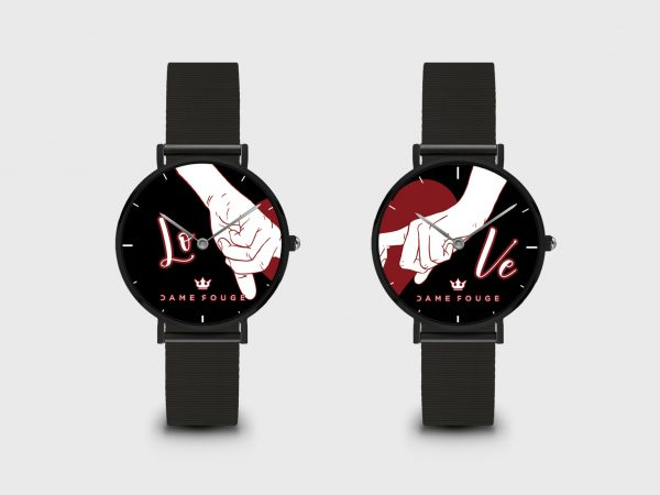 Watch Bond Dame Rouge