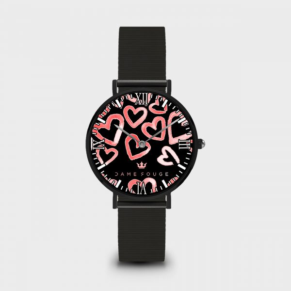Orologio Heart Rose Dame Rouge