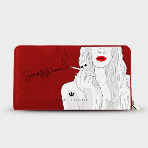 Portafoglio Simply Woman Dame Rouge