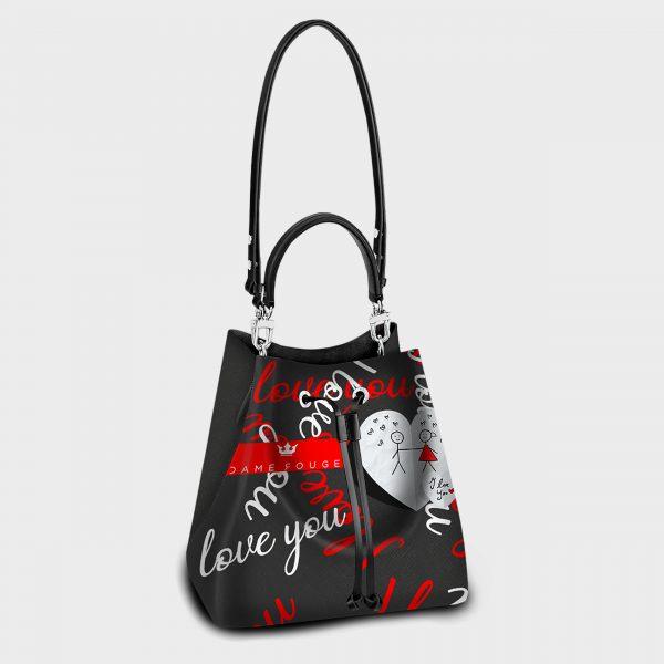 Secchiello I Love You Dame Rouge
