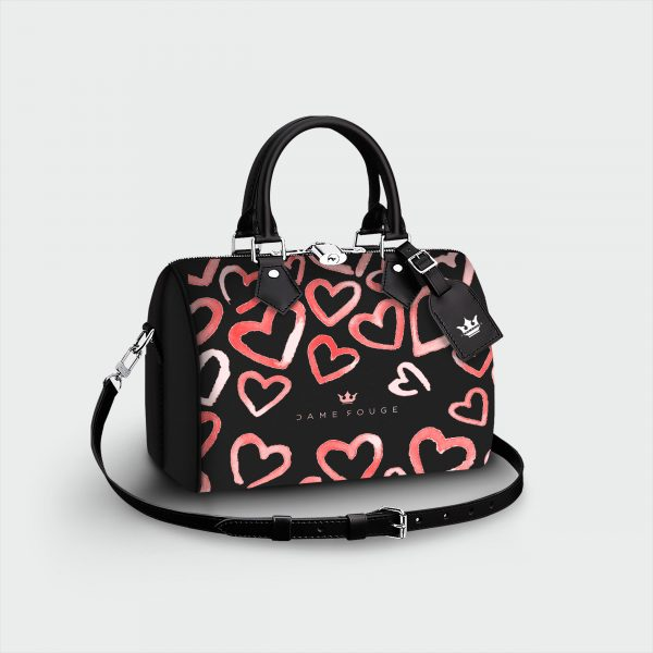 Bauletto Heart Rose Dame Rouge