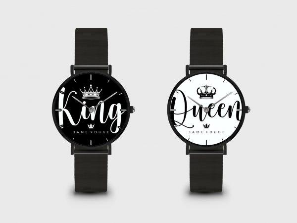 Watch King & Queen Dame Rouge