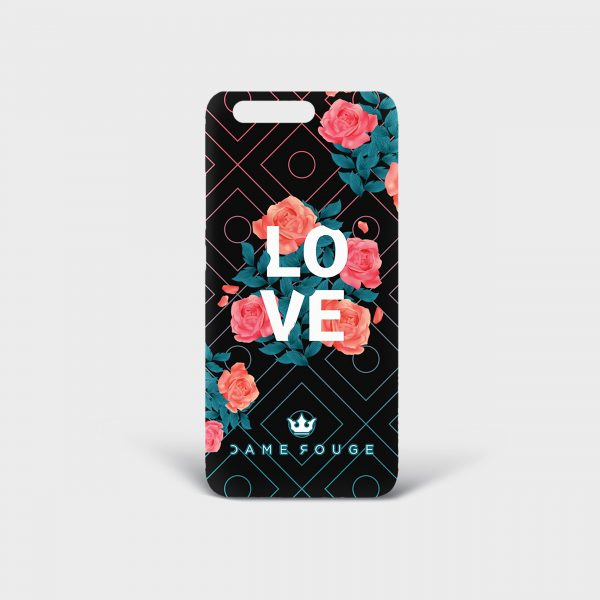 Cover Huawei Spring Love Dame Rouge