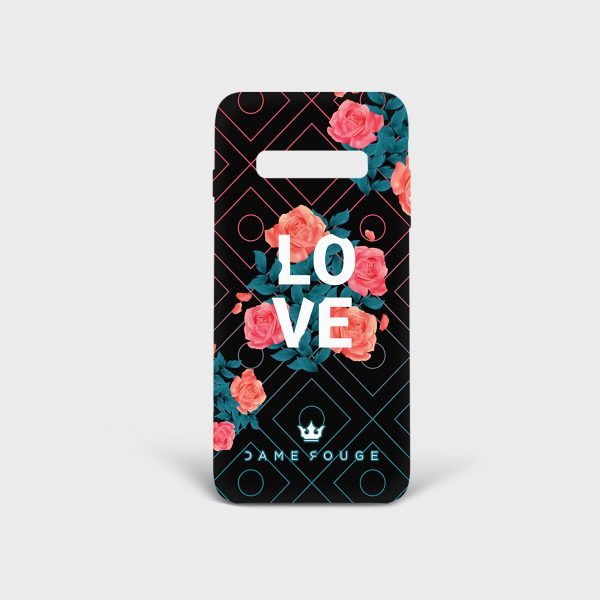 Cover Samsung Spring Love Dame Rouge