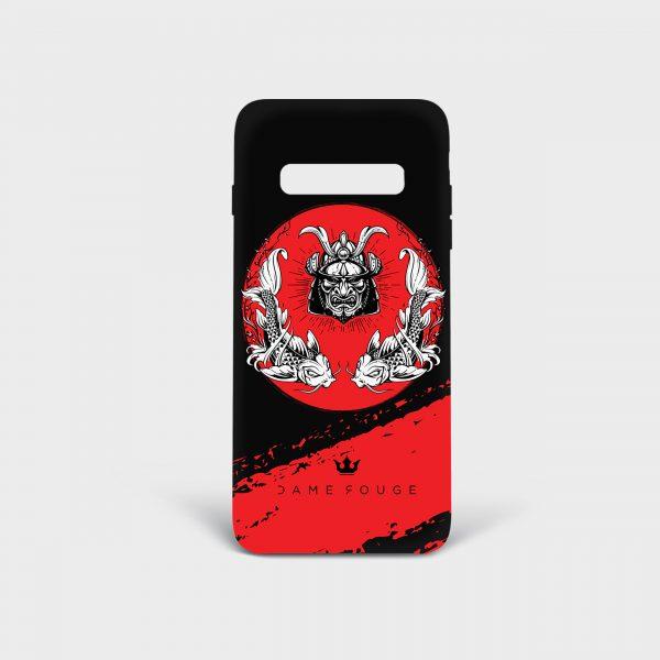 Cover Samsung Demone Samurai Dame Rouge