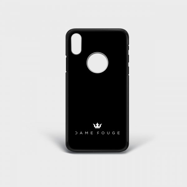 Cover Iphone Black Classic Dame Rouge