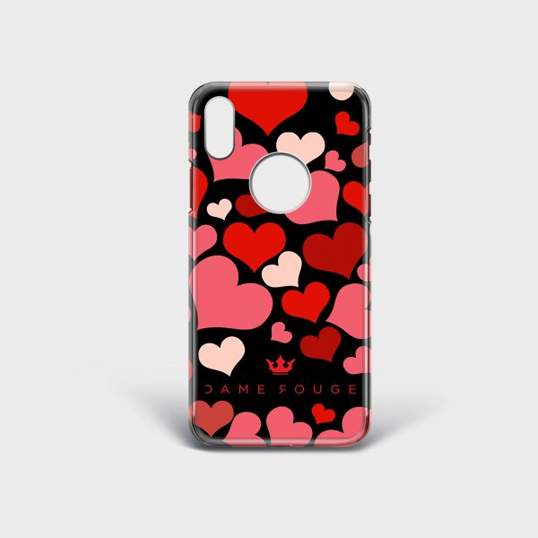 Cover IPhone New Heart Dame Rouge