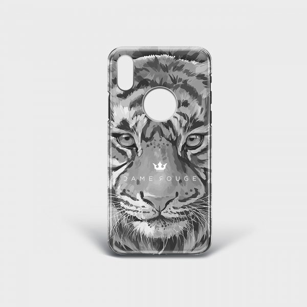 Cover Iphone Tiger Dame Rouge