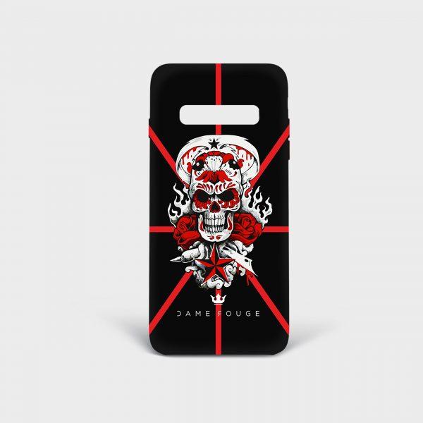 Cover Samsung Teschio Dame Rouge