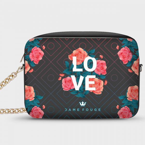 Borsetta Smart Spring Love Dame Rouge