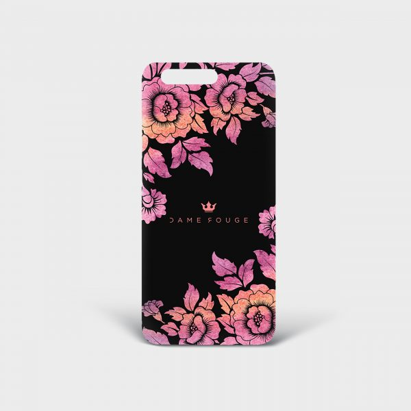 Cover Huawei Violet Roses Dame Rouge