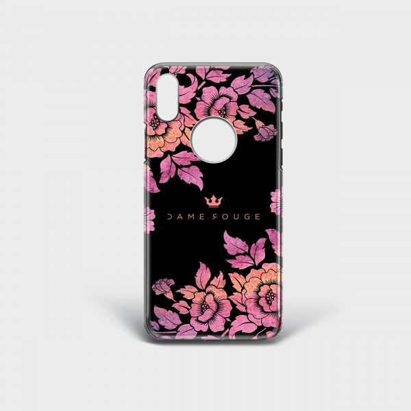 Cover Iphone Violet Roses Dame Rouge