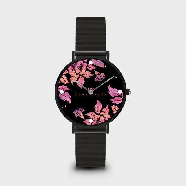 Orologio Violet Roses Dame Rouge