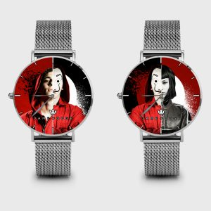 Metal Watch Bella Ciao Dame Rouge