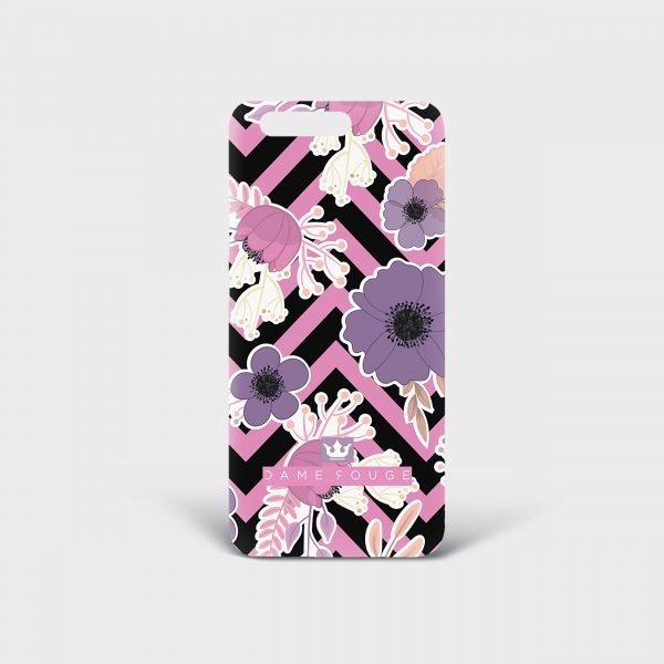Cover Huawei Floral Dame Rouge