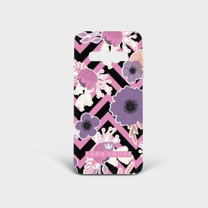 Cover Samsung Floral Dame Rouge