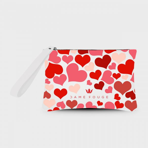 Pochette Smash New Heart Dame Rouge