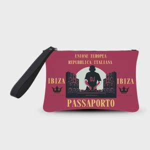 Pochette Smash Passaporto Ibiza Dame Rouge