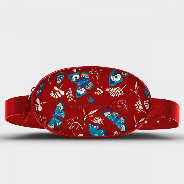 Marsupio Life Blue Butterfly Dame Rouge