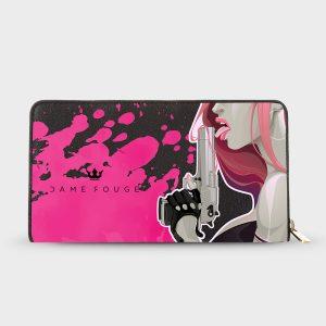 Portafoglio Pink Shot Dame Rouge