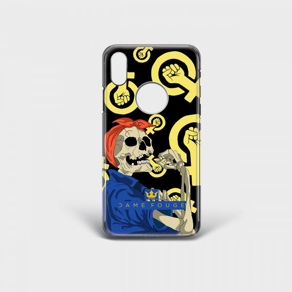 Cover Iphone The Femminism Dame Rouge