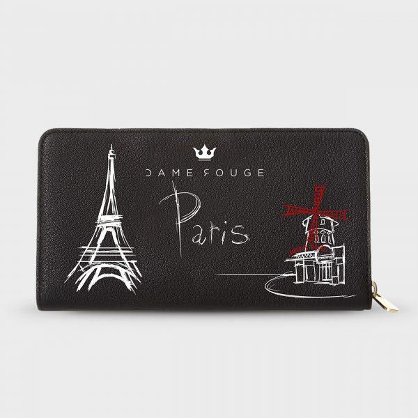 Portafoglio Paris Dame Rouge