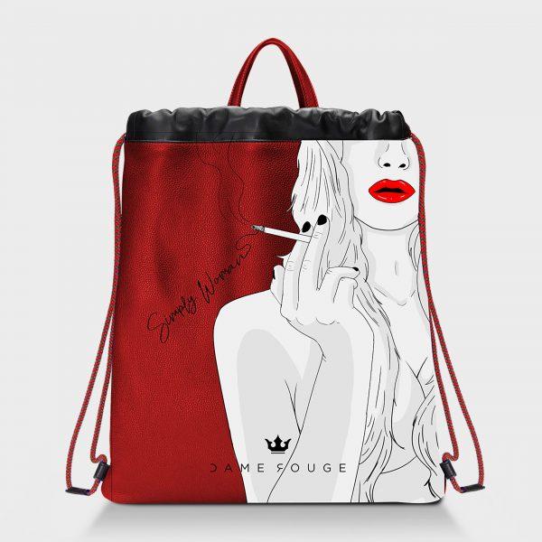 Zaino Squeeze Simply Woman Dame Rouge