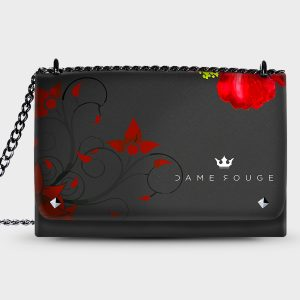 Lovely Bag Flower Red Dame Rouge