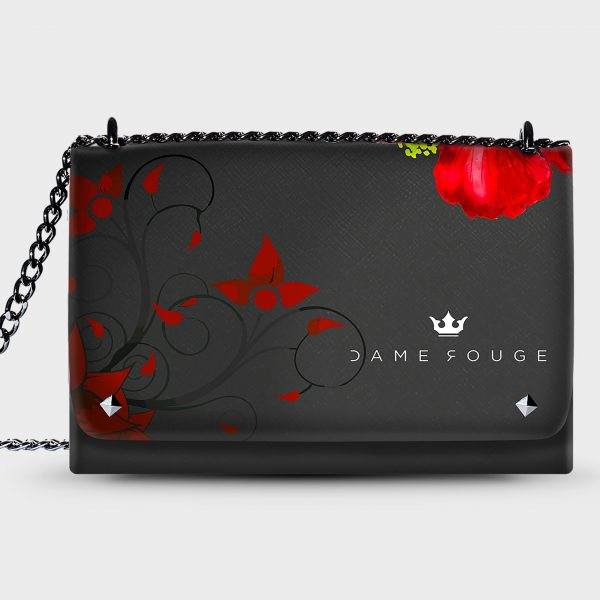 Lovely Bag Flower Red Dame Rouge
