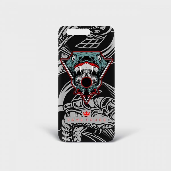 Cover Huawei Snake Bite Dame Rouge
