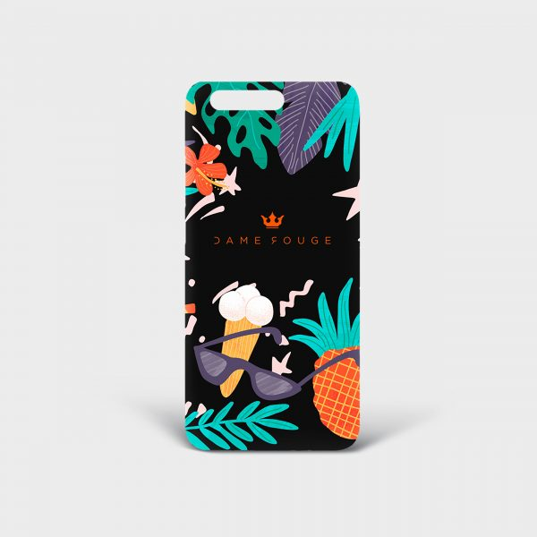 Cover Huawei Summer Mood Dame Rouge