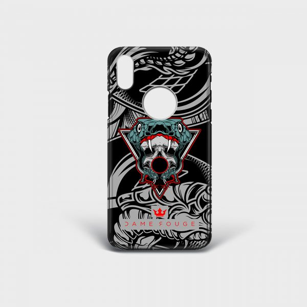 Cover Iphone Snake Bite Dame Rouge
