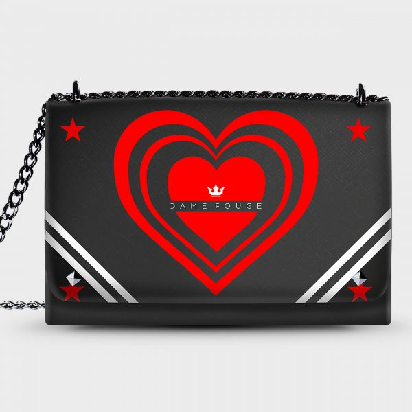 Lovely Bag Cuore Matto Dame Rouge Rouge