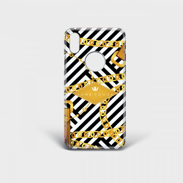 Cover Iphone Royal Chains Dame Rouge