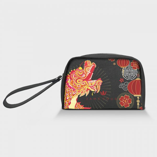 Borsello Speedy Asian Dragon Dame Rouge