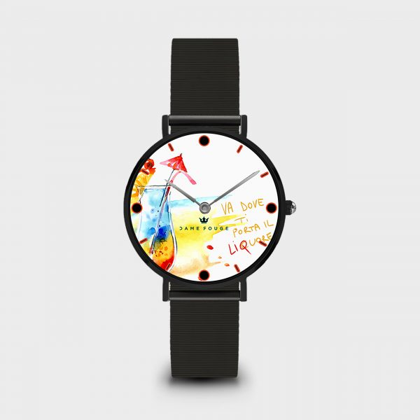 Orologio Funny Drink Dame Rouge