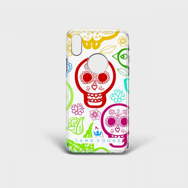 Cover Iphone Skull & Bird Dame Rouge
