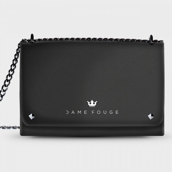 Lovely Bag Black Classic Dame Rouge