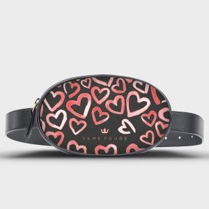 Marsupio Life Heart Rose Dame Rouge