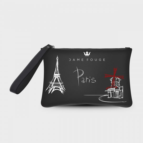 Pochette Smash Paris Dame Rouge