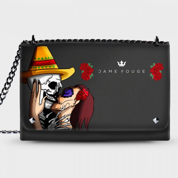 Lovely Bag Mexican Skull Dame Rouge