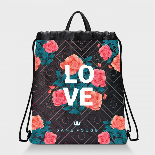 Zaino Squeeze Spring Love Dame Rouge