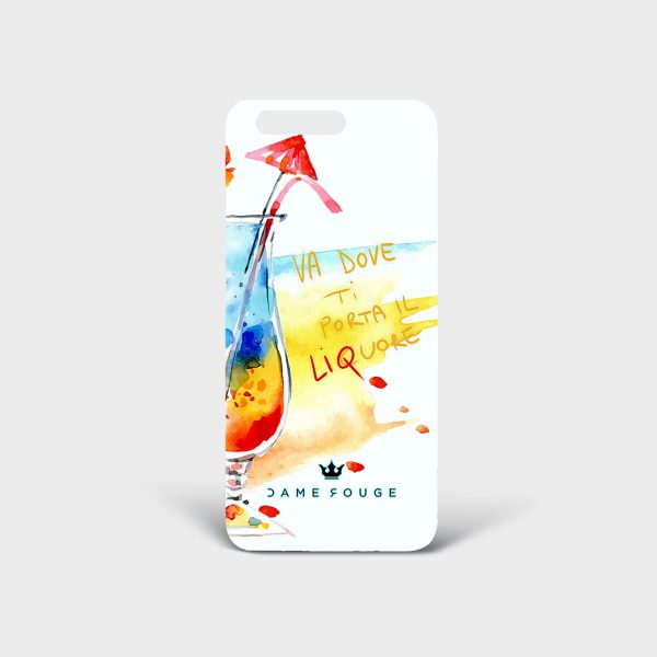 Cover Huawei Funny Drink Dame Rouge
