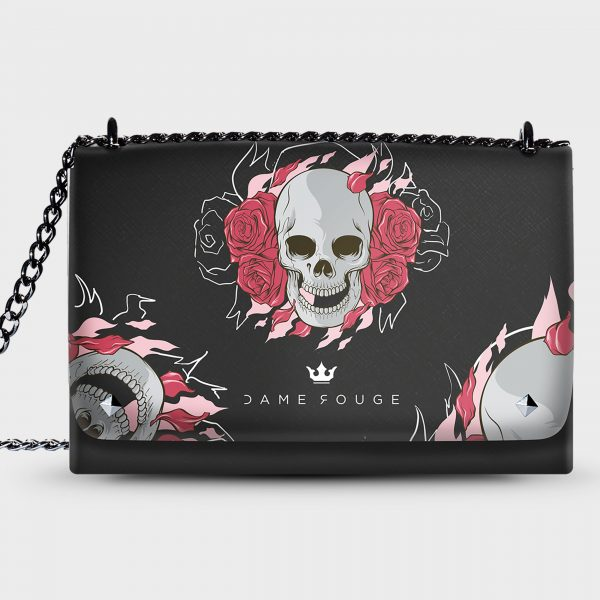 Lovely Bag Death Roses Dame Rouge